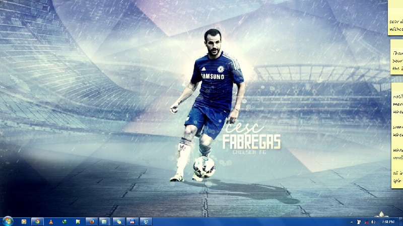 Chelsea FC theme pack Screen shot