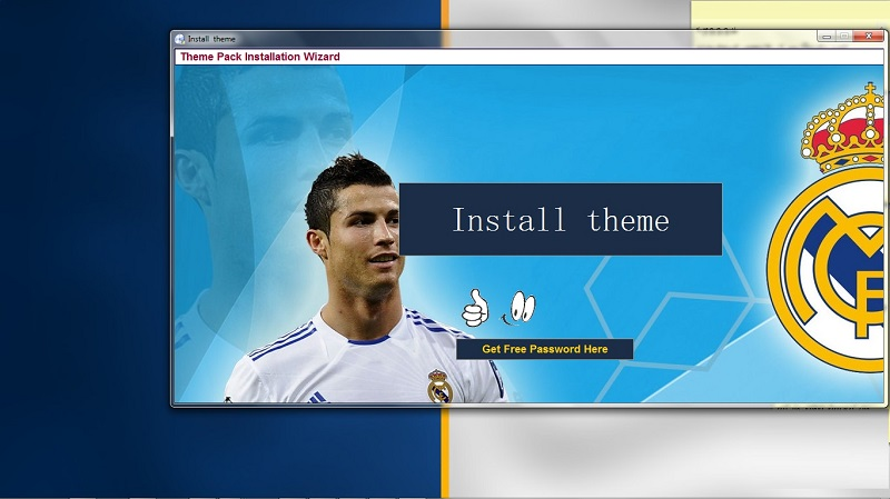 Real Madrid FC theme Screen shot